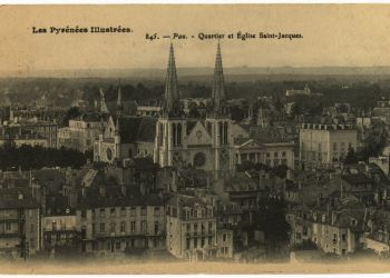Quartier et église Saint-Jacques