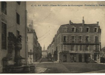 Place St Louis de Gonzague - Fontaine L. Daran