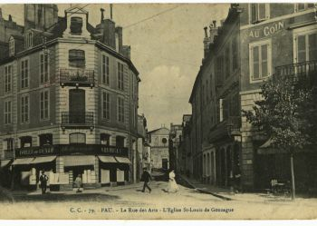 La rue des Arts - L'Eglise St Louis de Gonzague