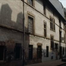 Façade latérale, rue Marengo